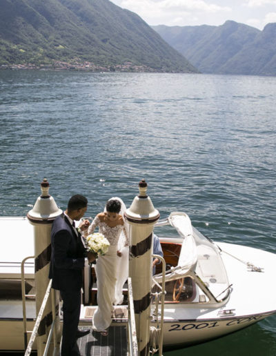 Elopement in Italy - lake como wedding