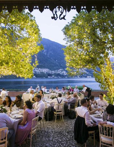 Wedding in lake como
