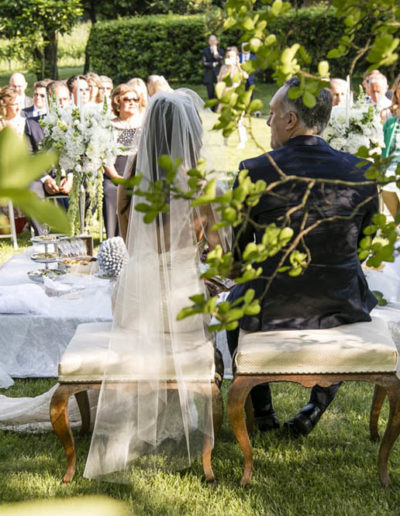 Wedding in the Italian vineyard, Franciacorta