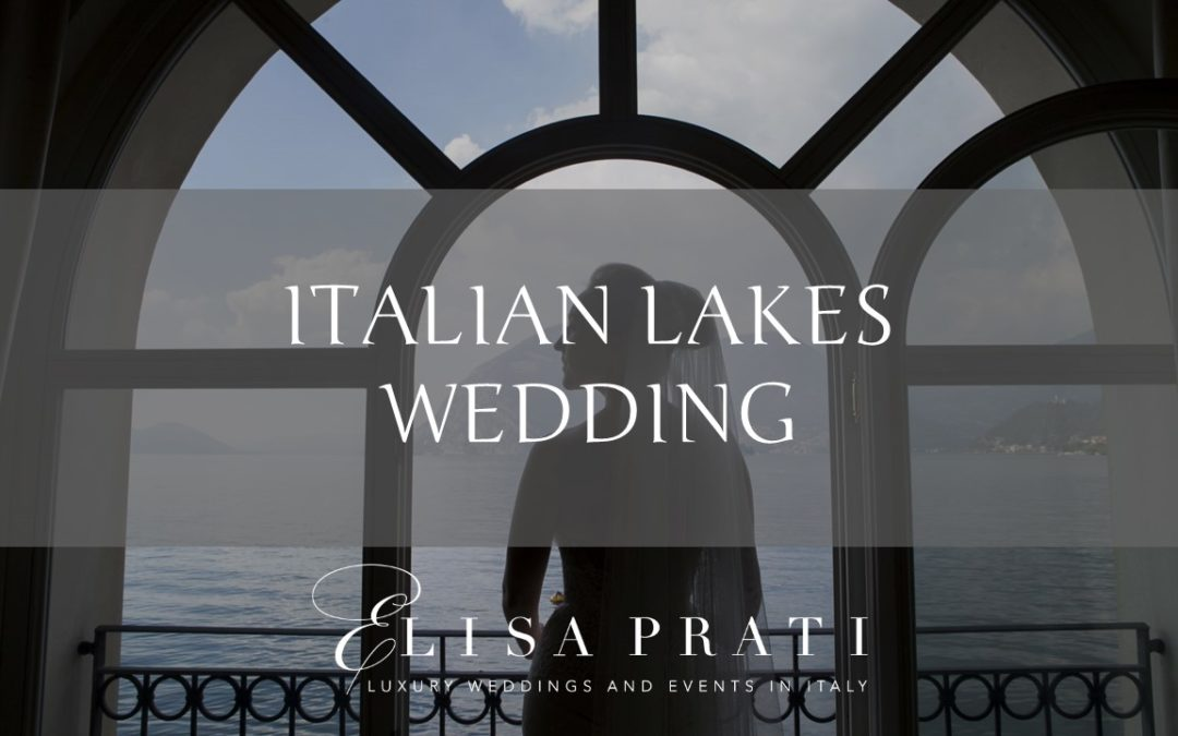 Italian lakes wedding: elegant and refined