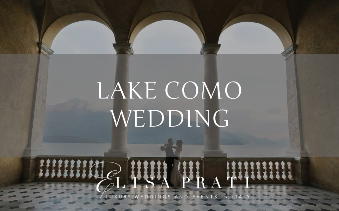 Lake Como wedding: sophistication