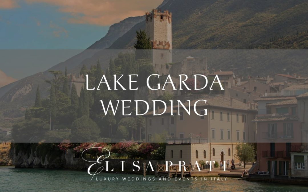 Lake Garda wedding: elegant and refined