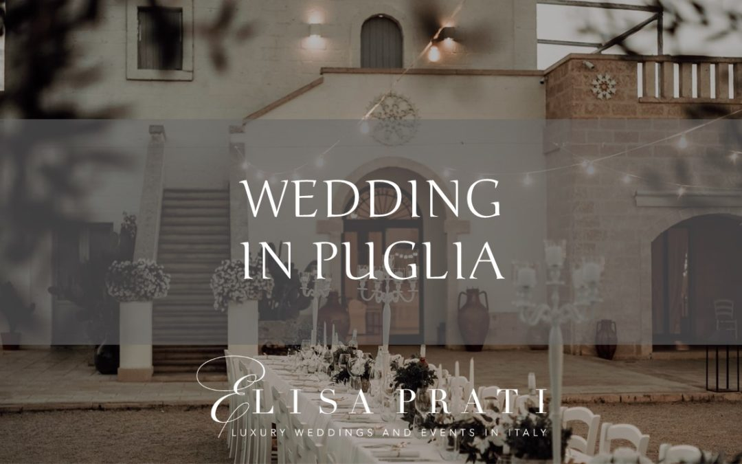 Wedding in Puglia: Mediterranean touch