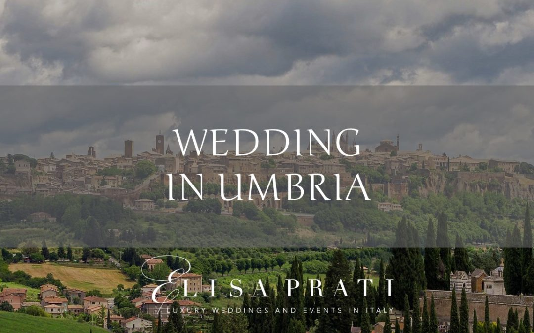 Wedding in Umbria, where art and nature meet