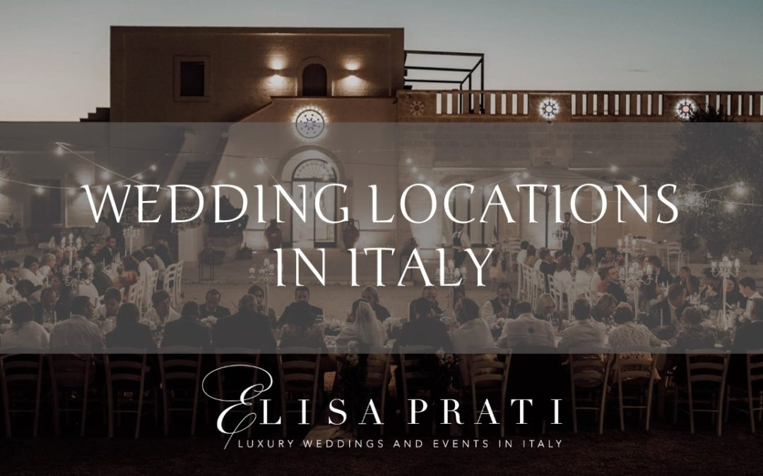 Locations for luxury weddings in Italy