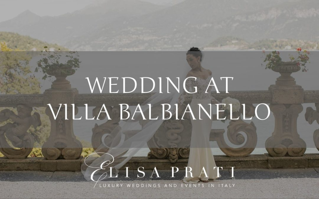 WEDDING AT VILLA BALBIANELLO – GALLERY