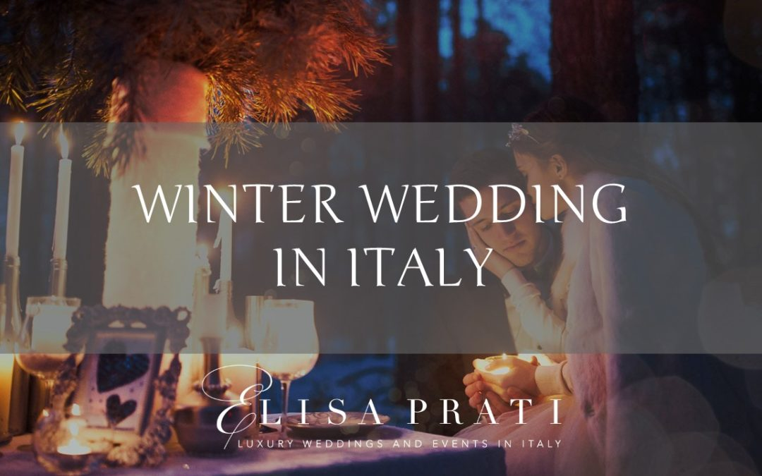 Winter wedding in Italy: magical mountains