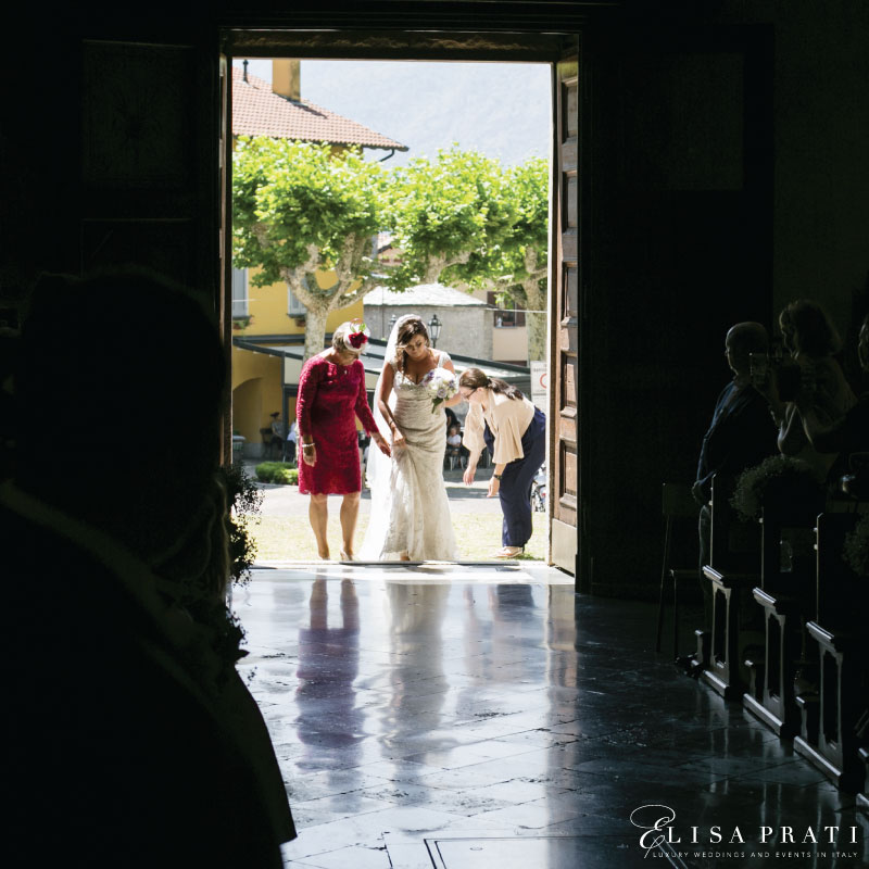 Elisa Prati Wedding planner at lake Como