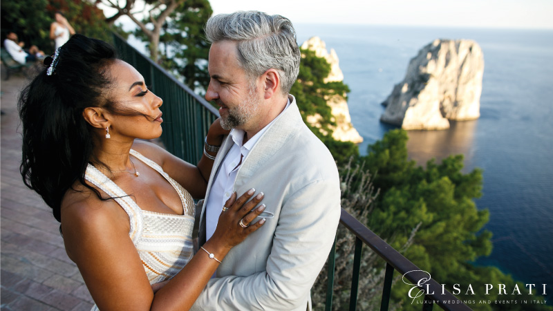 luxury wedding planner Capri