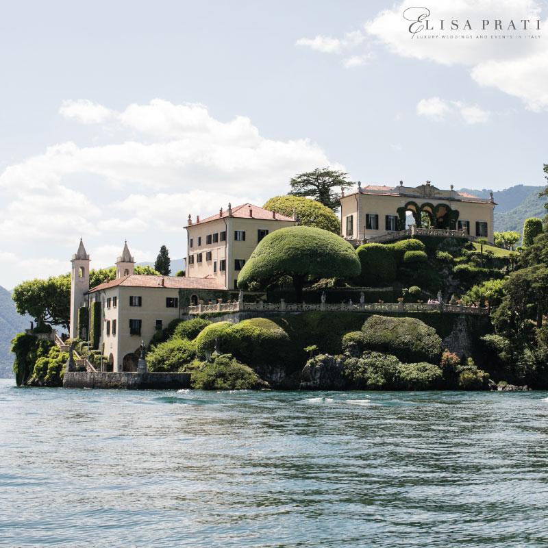 Luxury wedding at Villa Balbianello