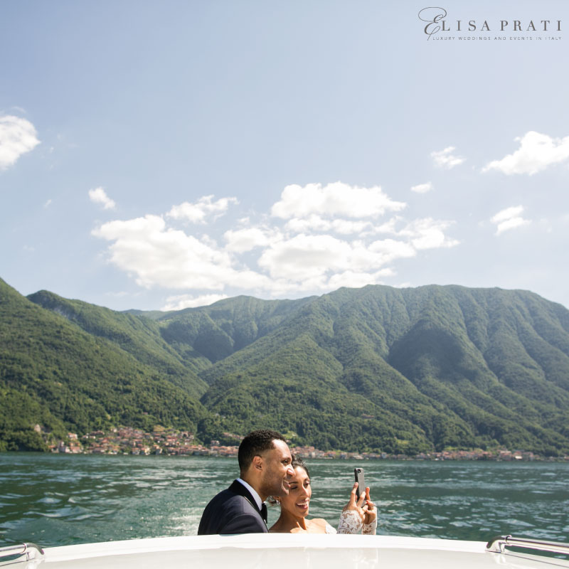Elopement at Lake Como