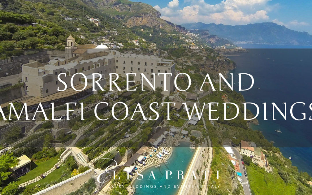 Luxury Wedding on the Amalfi coast and Sorrento