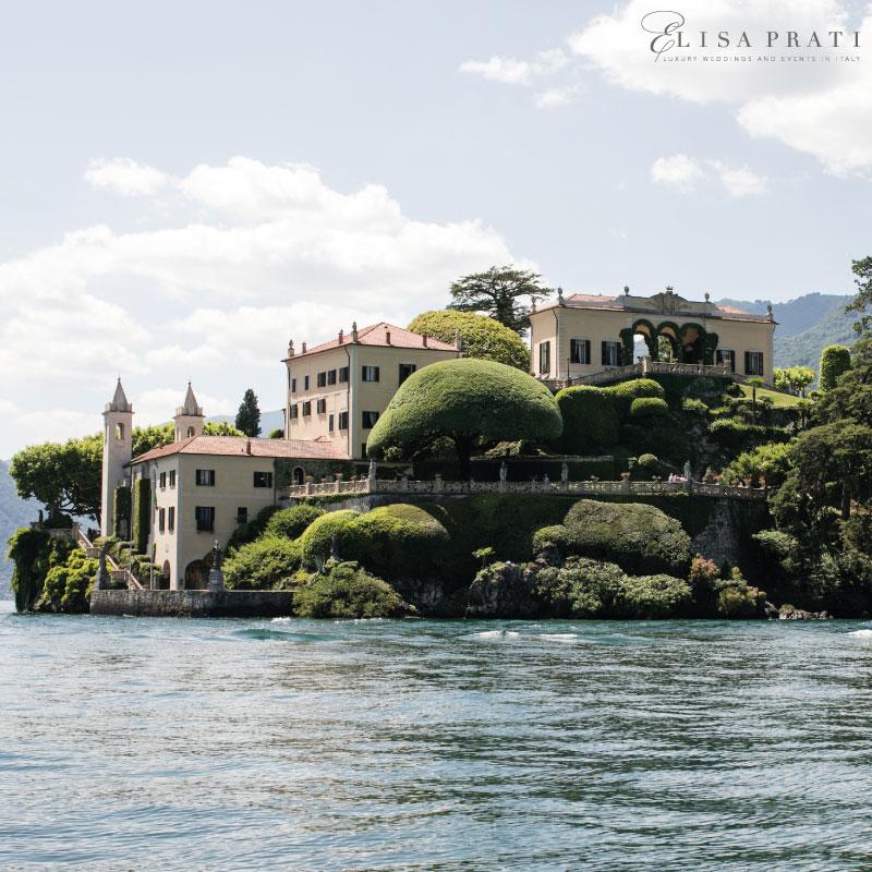 Luxury wedding planner villa Balbianello