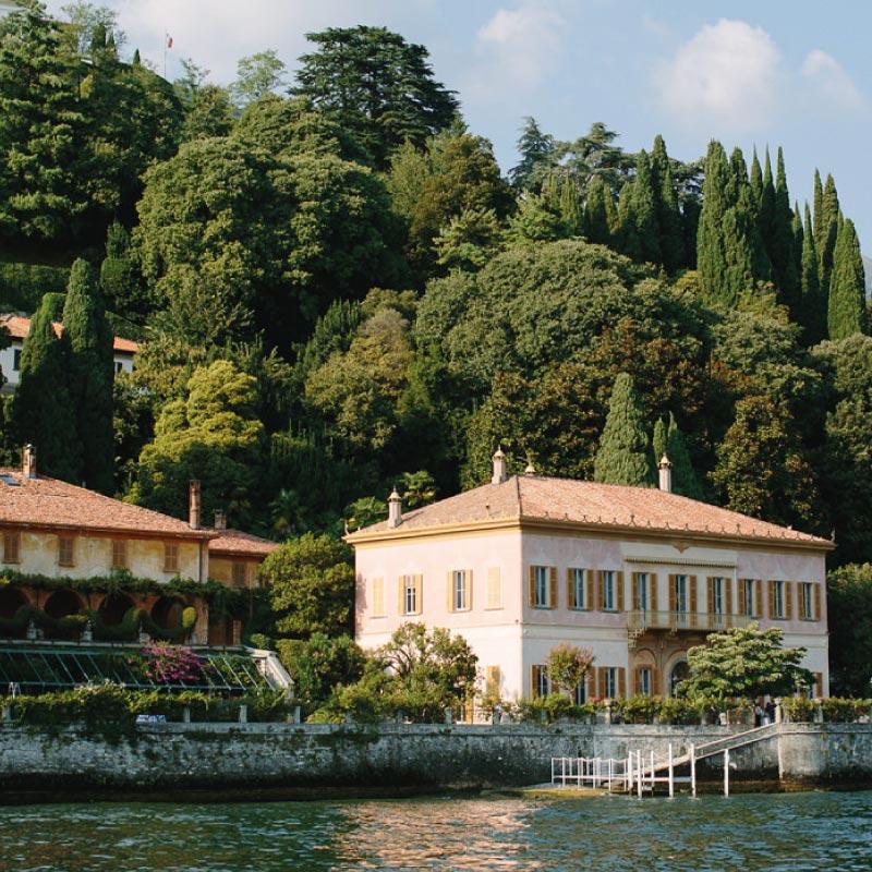 Luxury wedding planner Villa Pizzo