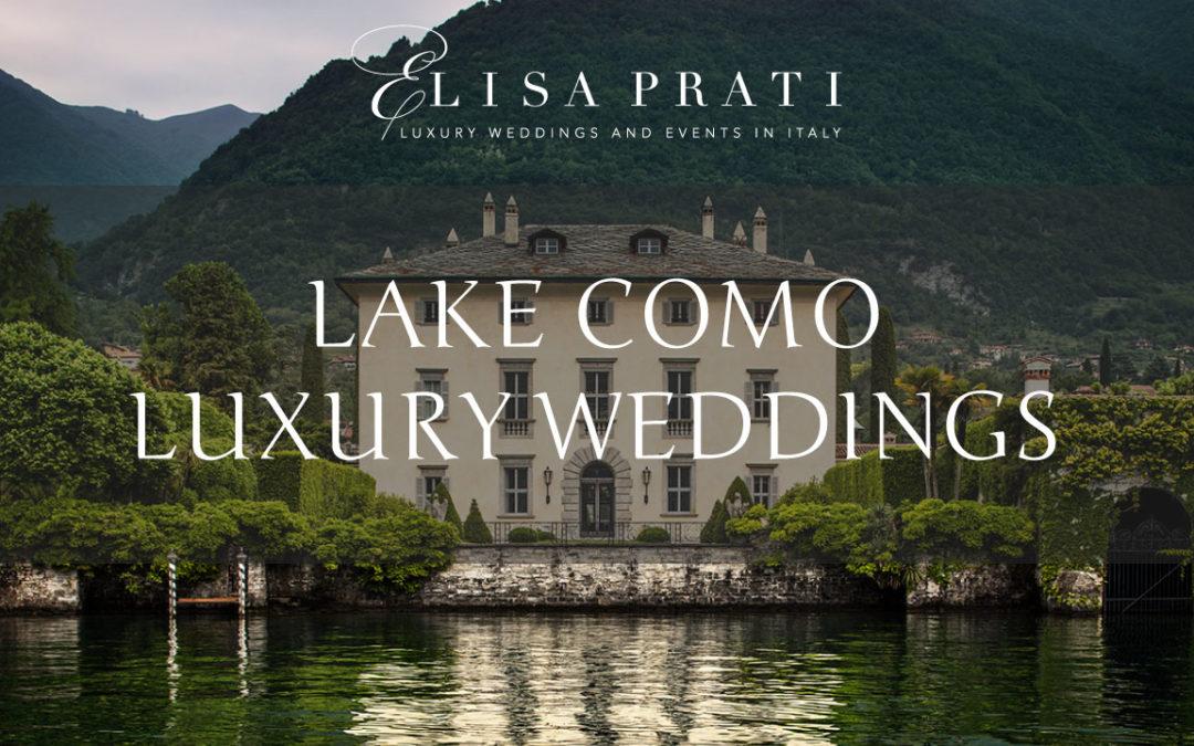Luxury Lake Como wedding: sophistication and elegance in Italy