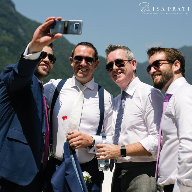 Luxury wedding at lake Como