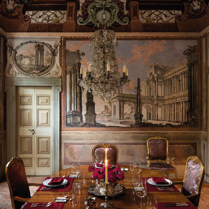 Luxury wedding Villa Balbiano