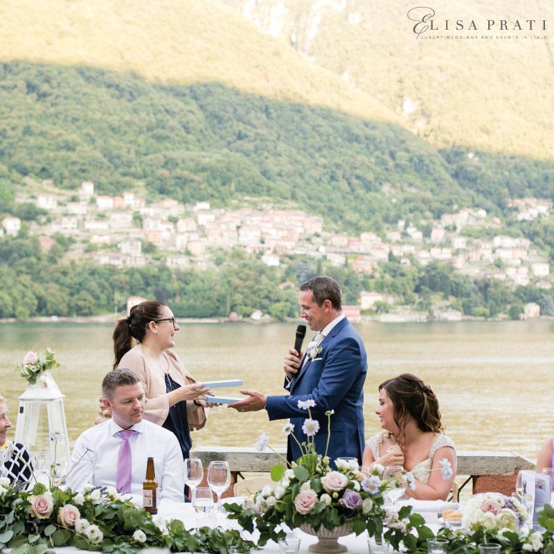 Luxury lake Como wedding planner