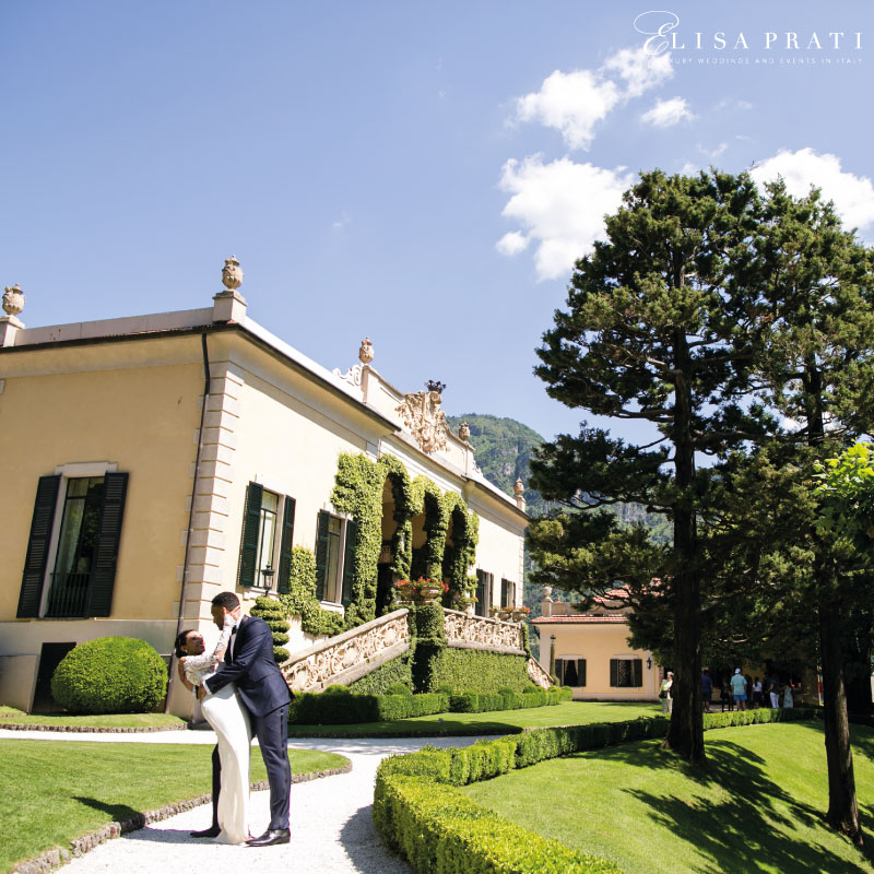 Luxury Villa Balbianello wedding planner