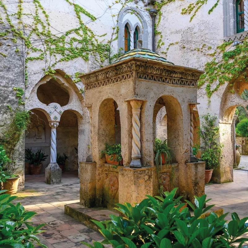 Amalfi Coast Villa Cimbrone wedding