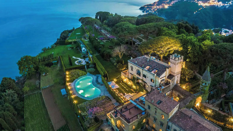 LUXURY AMALFI COAST WEDDING: VILLA CIMBRONE WEDDING